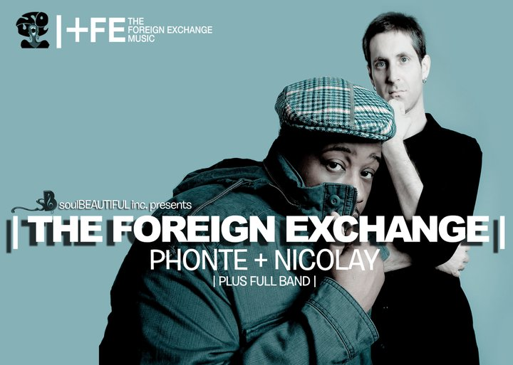 Flyer for The Foreign Exchange at Cargo